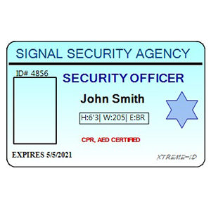 SECURITY ID TEMPLATE